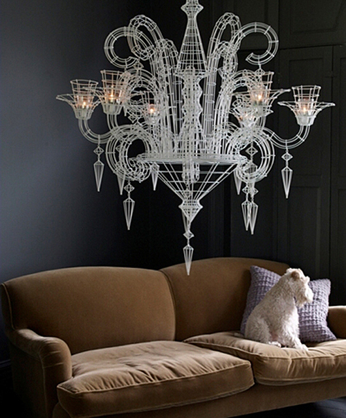 Candle Chandelier The Style Files