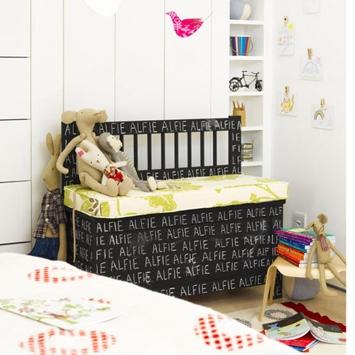 chalkboard ideas for kidsrooms | THE STYLE FILES