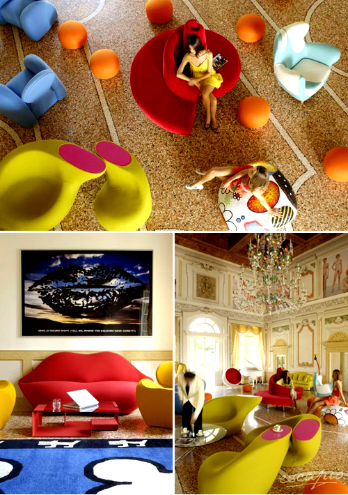 Byblos Art hotel in Verona, Italy | the style files