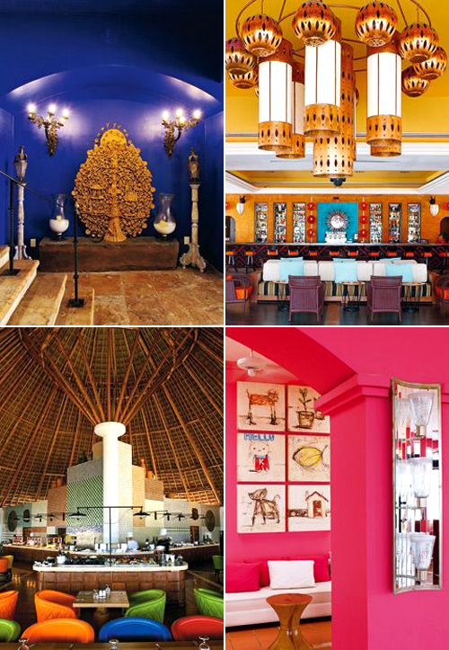 Colourful Mexican Resort