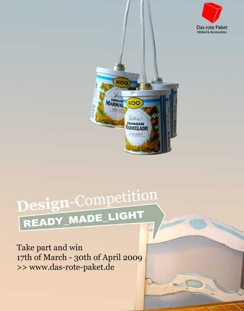 Das Rote Paket ready made design competition the style files