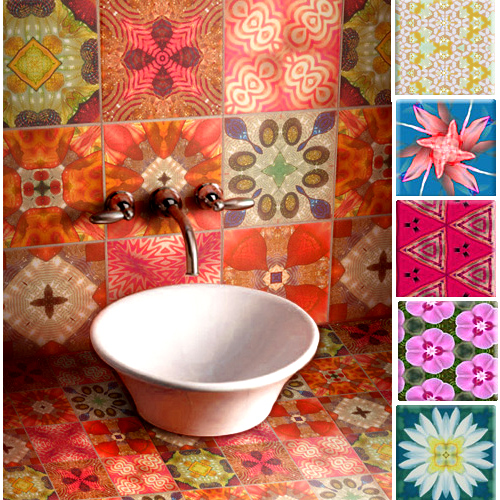 Colourful Wall Tiles Crinson's Colourful Tiles  The Style Files