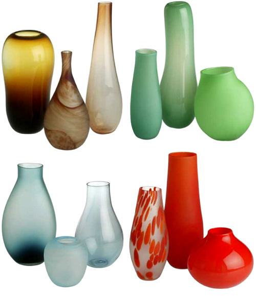 Glass Vases By Dinosaur Design The Style Files