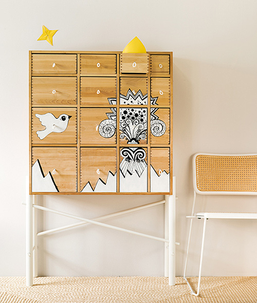 Ikea sten  personalized ikea cabinet | THE STYLE FILES