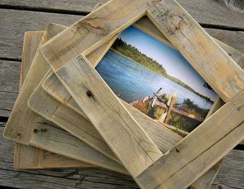 barnwood photo frames | THE STYLE FILES