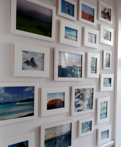 Photo wall the style files - White wall picture frames ...