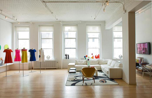 Lisa perry s ny loft the style files for New york loft style interior design