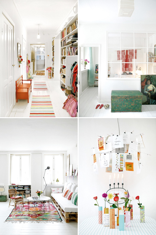 Another scandinavian home the style files for Scandinavian colors