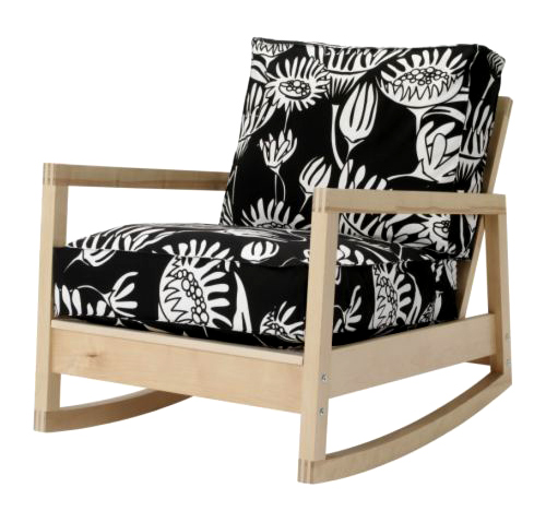IKEA Has Some Gorgeous New Fabrics In Store! I Love Rocking Chair LILLBERG  With FROARP Fabric (price Is U20ac99/$139).