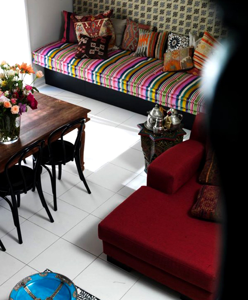 Modern interior with ethnic influences the style files for Ethnic interior design style