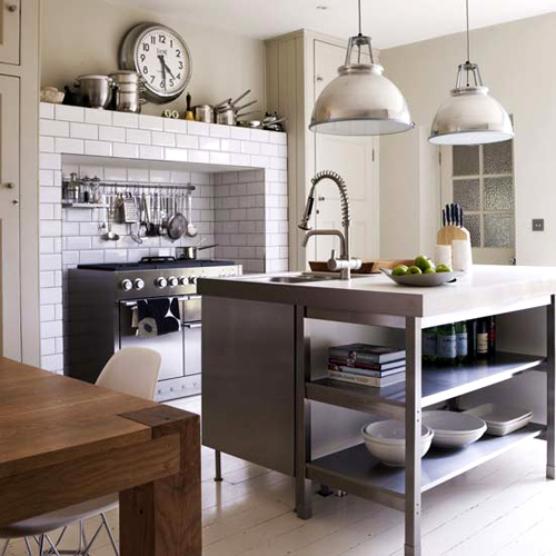 The Kitchen Units Are From Ikea Chairs Dwell And A Similar Table Can Be Found At Habitat