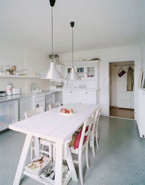 Modern country kitchen the style files - Estilo de cocinas ...