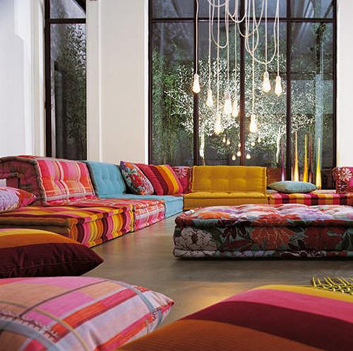 Divano Cuscini Colorati.Floor Pillows Page 2