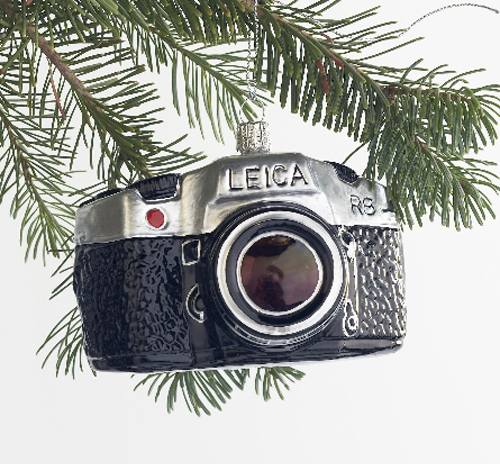 vintage camera christmas ornament  THE STYLE FILES