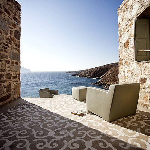 Paola navone s home in greece the style files for Idea casa paola