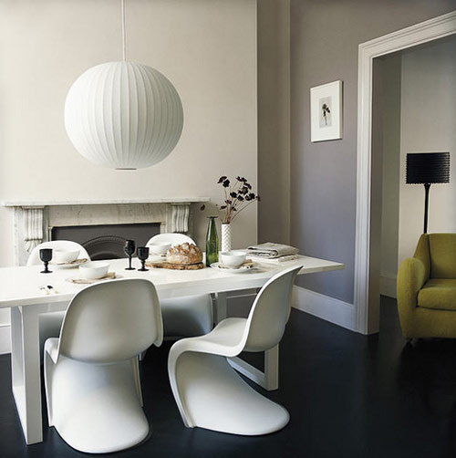 panton\'s plastic chair | THE STYLE FILES