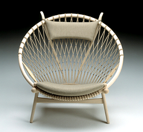 circle chair by hans j. wegner  THE STYLE FILES
