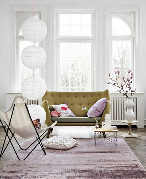 Vanessa s bruno paris apartment the style files for French interieur