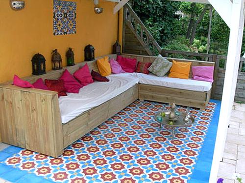 Moroccan tiles the style files for Moroccan style garden ideas