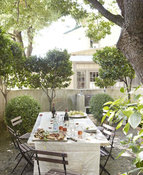 10 of the best inviting al fresco dining areas the style for Jardin in french