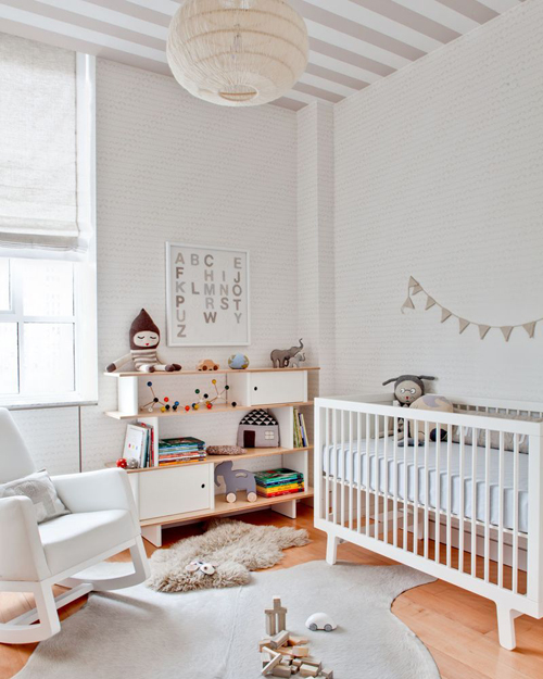 Beautiful Nursery a beautiful nursery in neutral tones | the style files