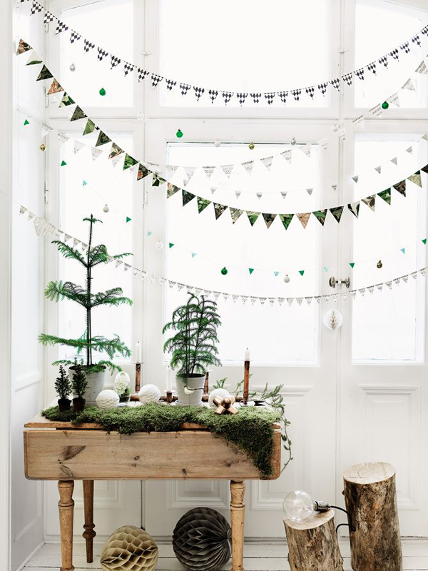It might not come as a surprise, but I personally prefer natural style  Christmas decorations. What about you? Today I show you some examples of  how stylish