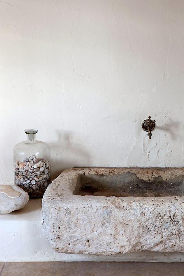 beige-stone-sink