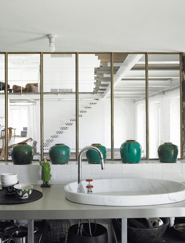 An italian home designed by paola navone the style files for Elle decor italia