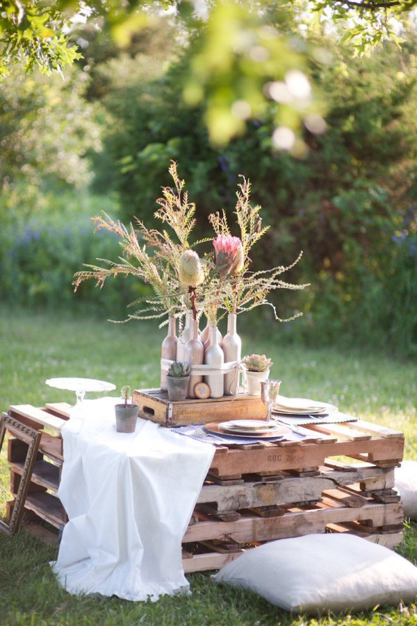 picnic pallet table