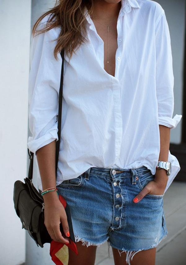 FRIDAY FASHION FILES THE WHITE SHIRT | THE STYLE FILES