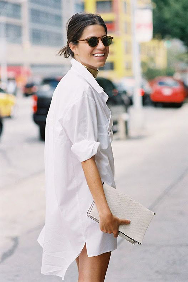 Friday Fashion Files The White Shirt The Style Files
