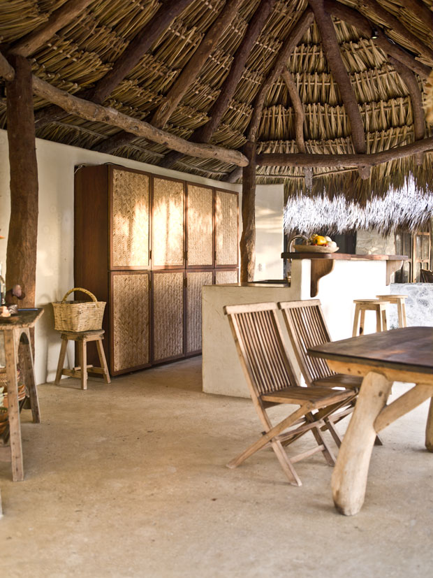 Weekend Escpape A Rustic Chic Home In Tulum The Style Files