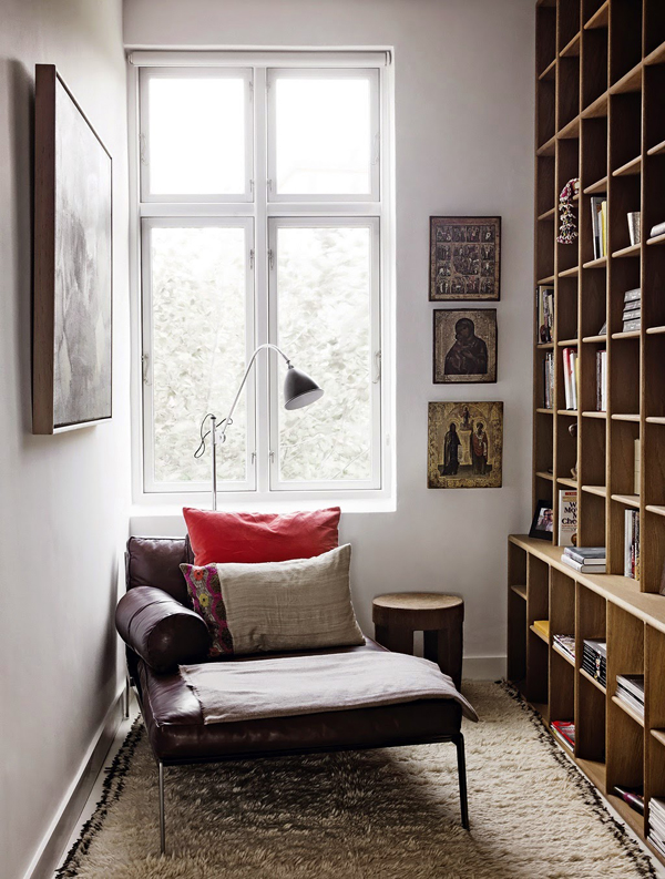 6 Ways To Create A Home Library Or Reading Nook Decorated