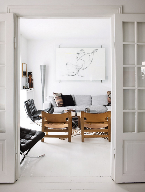 A beautiful home on a danish island the style files for Island living interiors