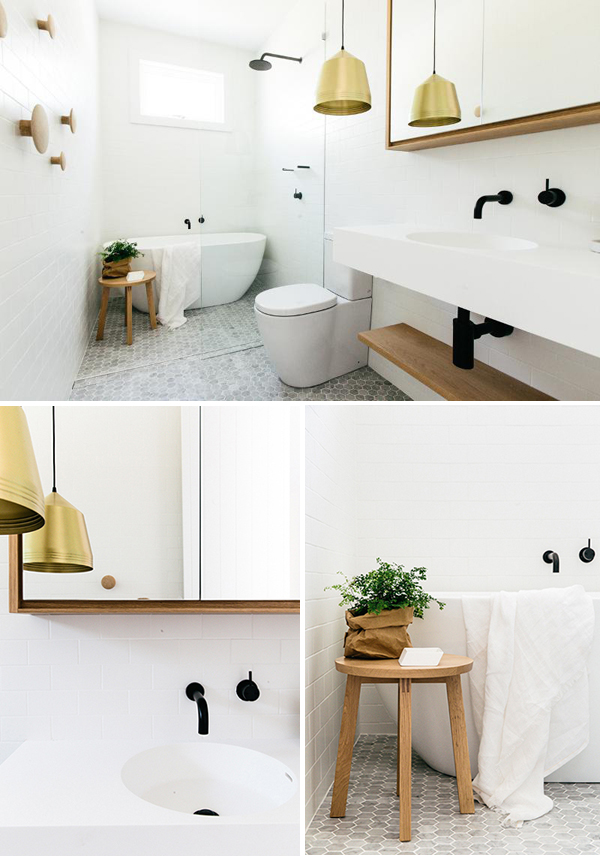 Beautiful apartment interior for sale in sydney the style files - Schwarze armaturen ...