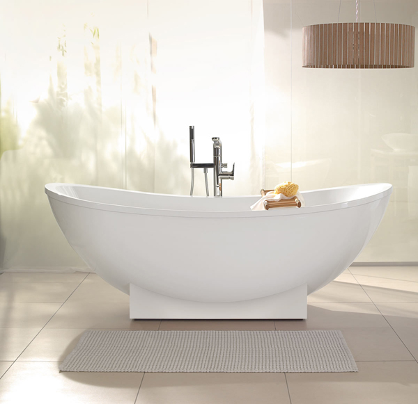 Tools for designing your dream bathroom the style files - Evacuation baignoire ilot ...