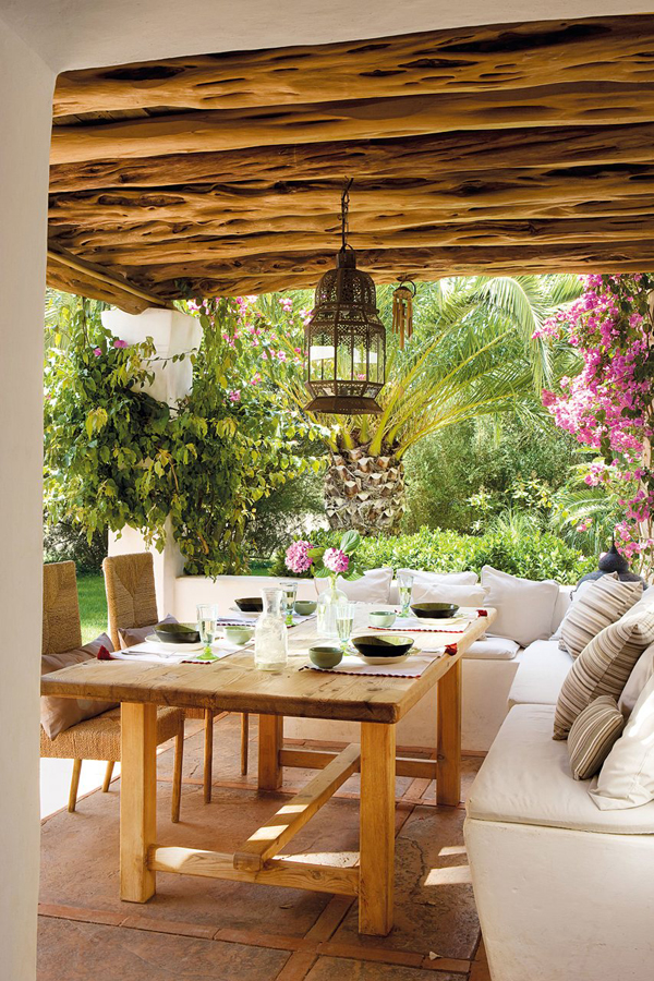 THE BEST MEDITERRANEAN STYLE OUTDOOR AREAS Stylefilescom   Mediterranean  Themed Backyard