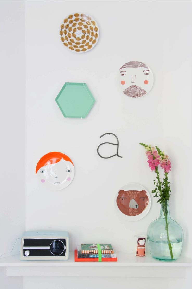 wall art plates
