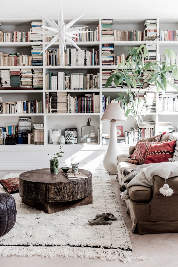 A SCANDINAVIAN HOME WITH BOHO CHIC VIBE