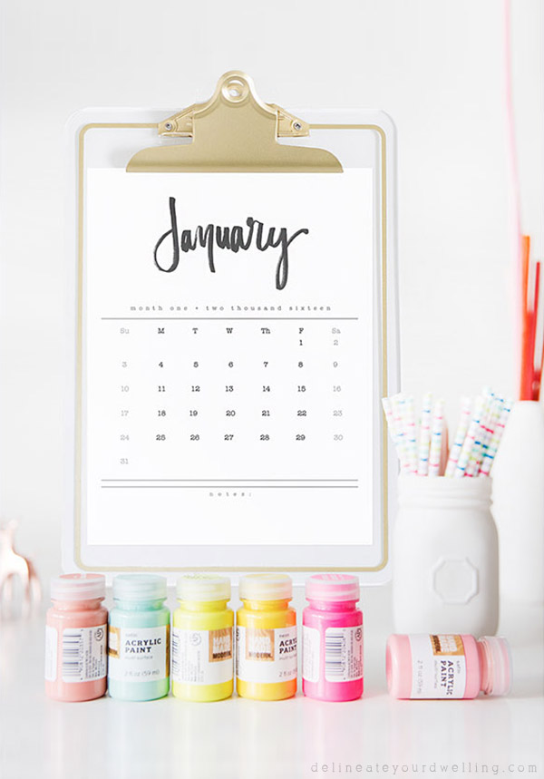 2016-Hand-Lettered-Calendar