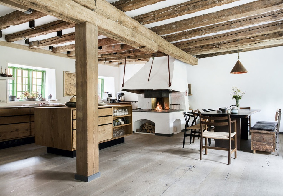 Noma owner ren redzepi s stunning danish home the style for Decoration rustique interieur