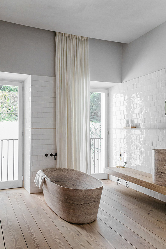 a free standing stone bathtub stunning it is part of santa clara a guest house located in a beautiful 18th century building in the old cultural