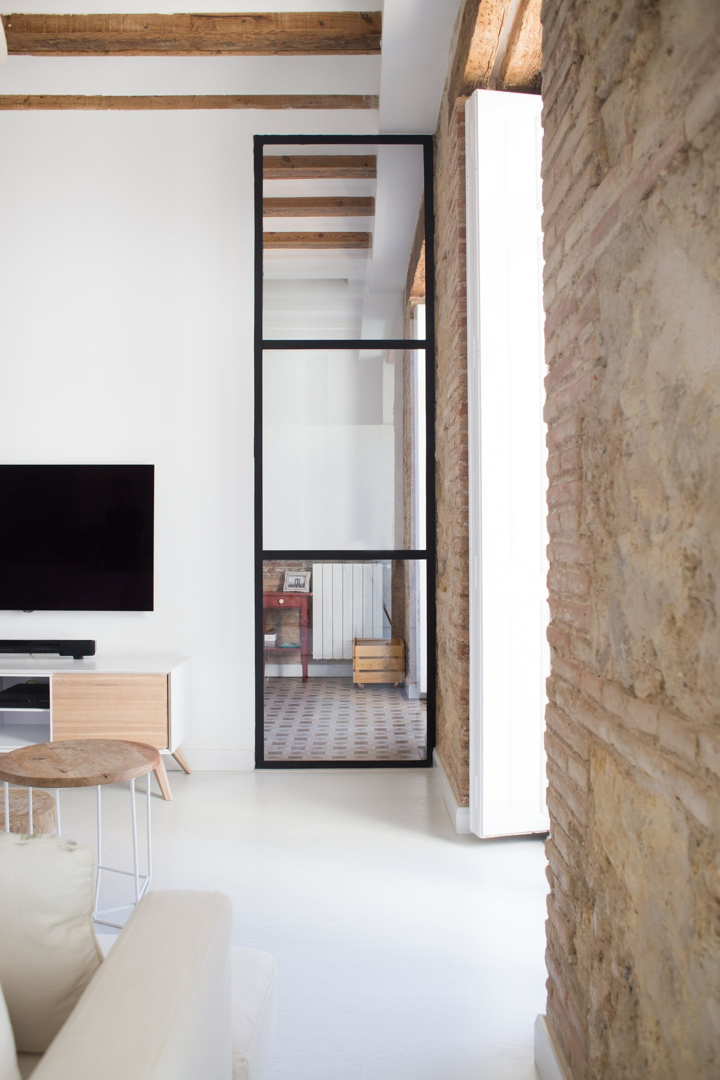 A renovated spanish home with a stunnig tile floor the style files tile floors as they are a striking feature of this home the tiles are known as nolla tiles as they were made by the nolla factory near valencia spain dailygadgetfo Image collections