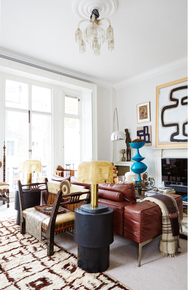 The Eclectic London Home Of Designer Malene Birger The