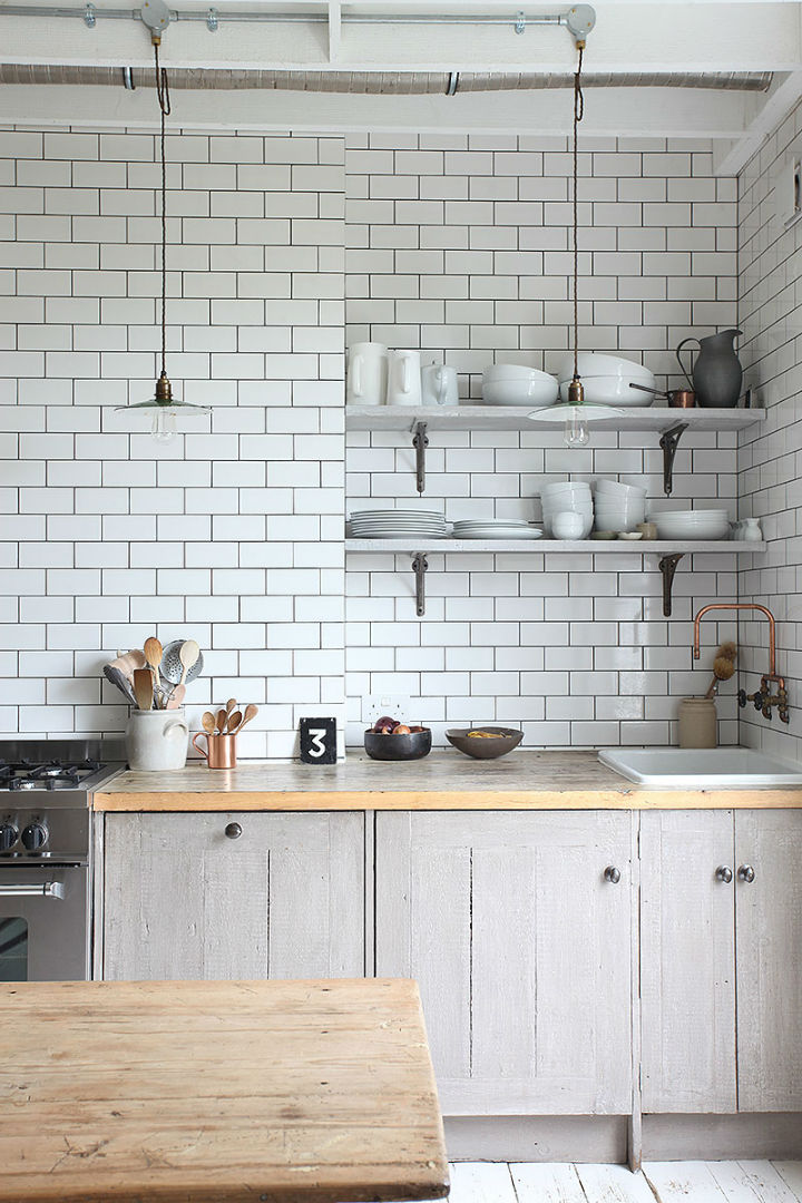 A Rustic Modern Kitchen In The Heart Of London The Style