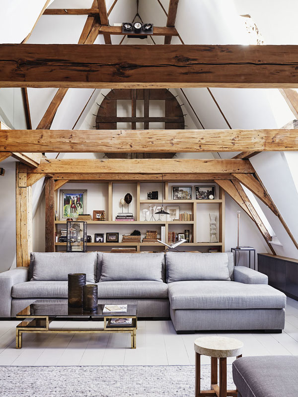 A STUNNING CANAL LOFT IN AMSTERDAM, THE NETHERLANDS