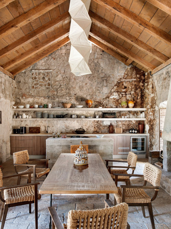 Small Garden Designs And Layouts, The Renovation Of A 15th Century Building In Croatia The Style Files