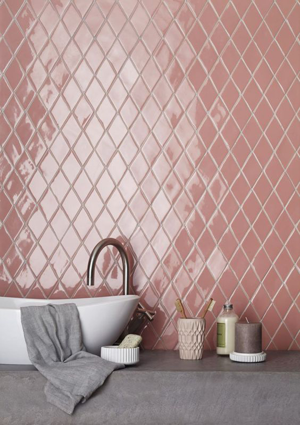You Can Also Opt For A Pink Sink As In The Last Two Images After Jump I Am Curious To Hear What Your Opinion On Tiles Is